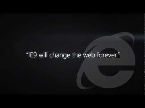 Microsoft - A more beautiful web is... Internet Explorer
