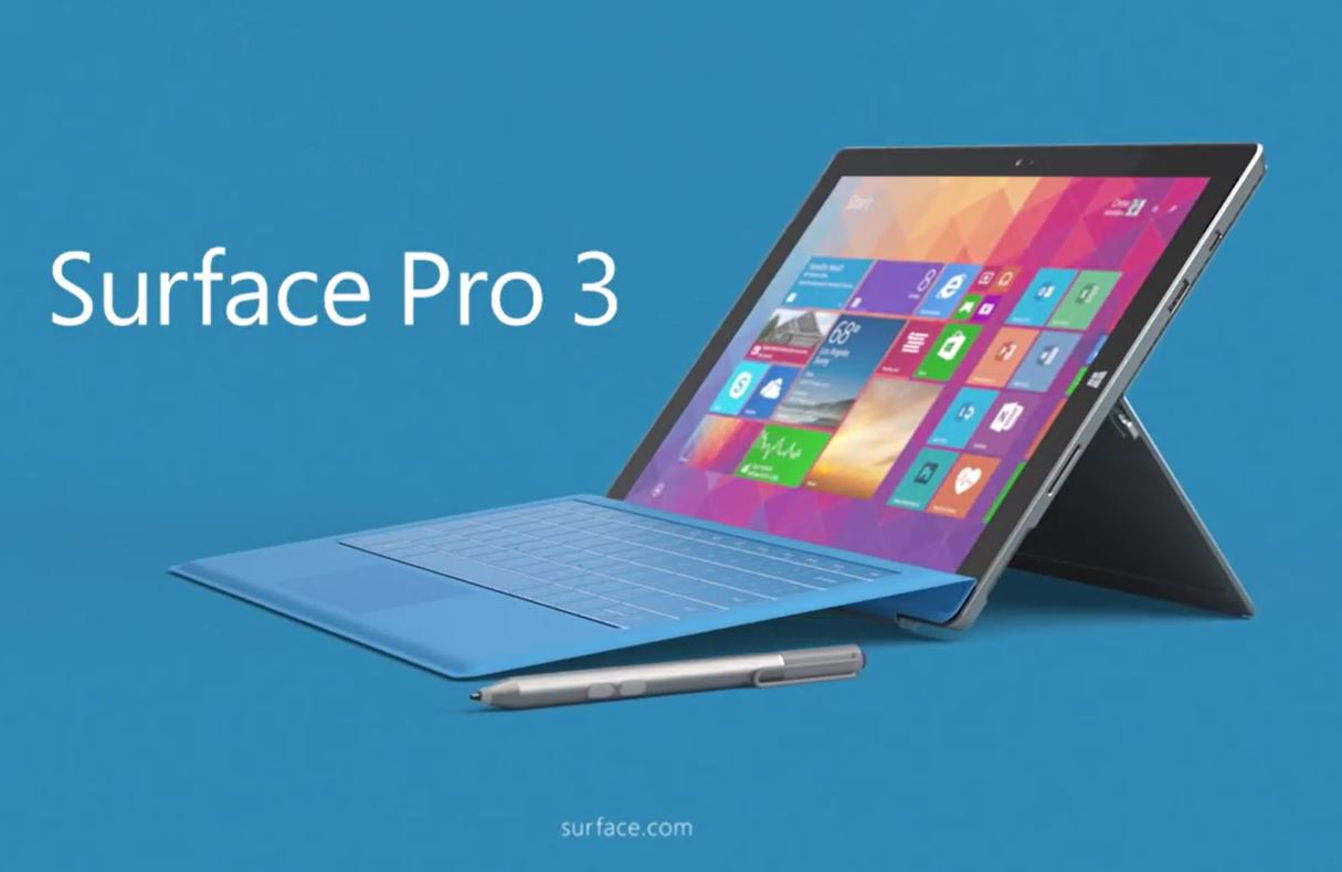 Microsoft - Surface Pro 3 - Reinvent the laptop